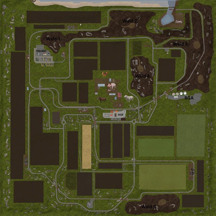 Map Poppendorfer Forst V 2.0