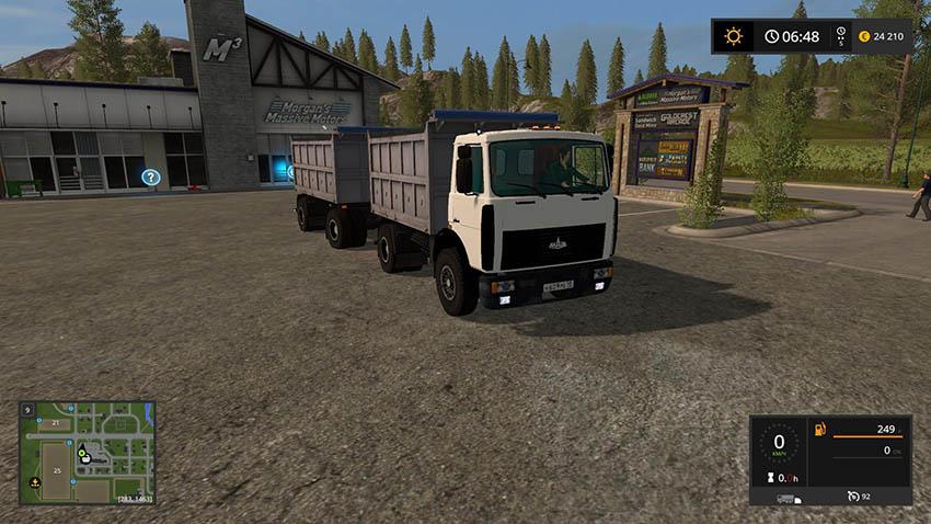 Maz 5551 v 3.0