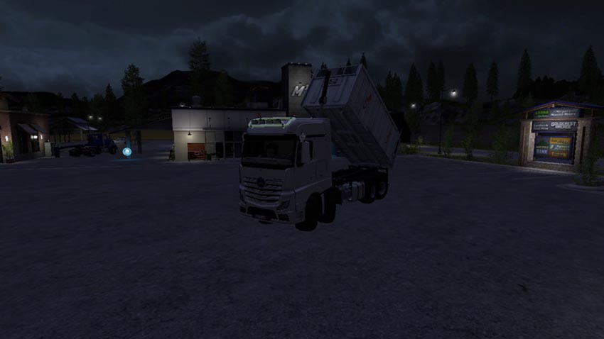 Mercedes Benz Actros 8x8 MP4 swap system V 1.0