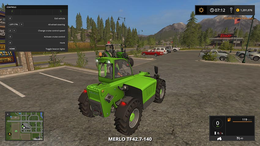 Merlo TF42.7-140 V 1.0 Beta