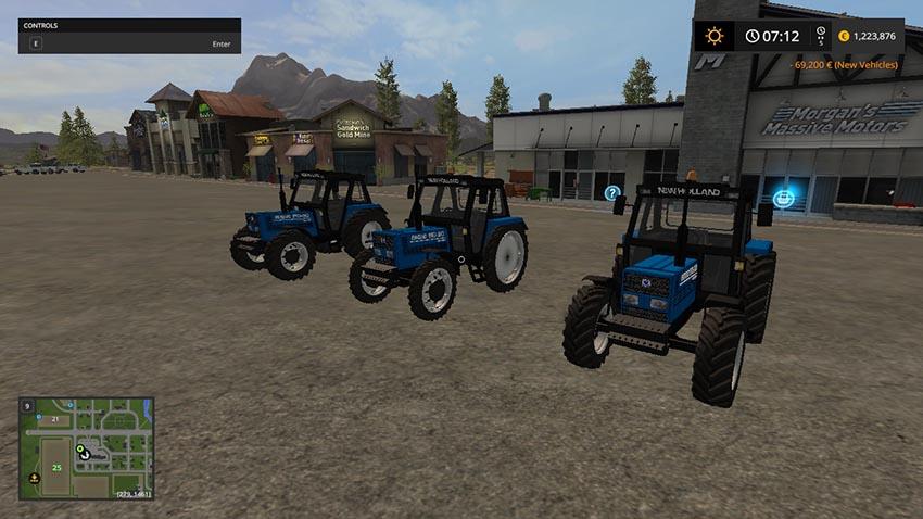 New Holland 110-90 Blue V 1.0