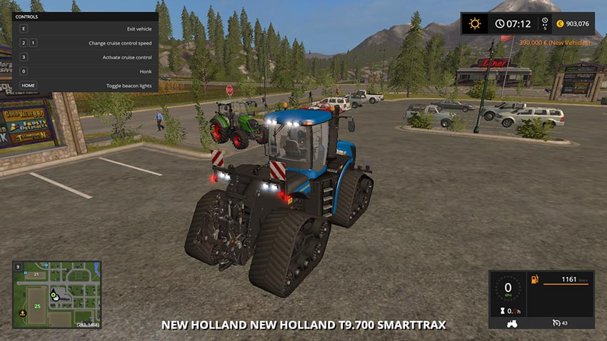 New Holland T9.700 SmartTrax v 1.0