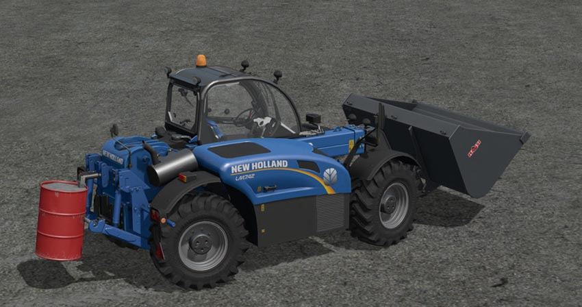 New Holland LM 742 with Rear Hydraulics V 1.17