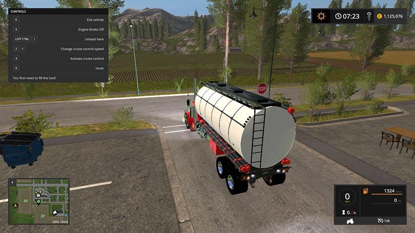 Peterbilt 388 Water Tanker v 1.0