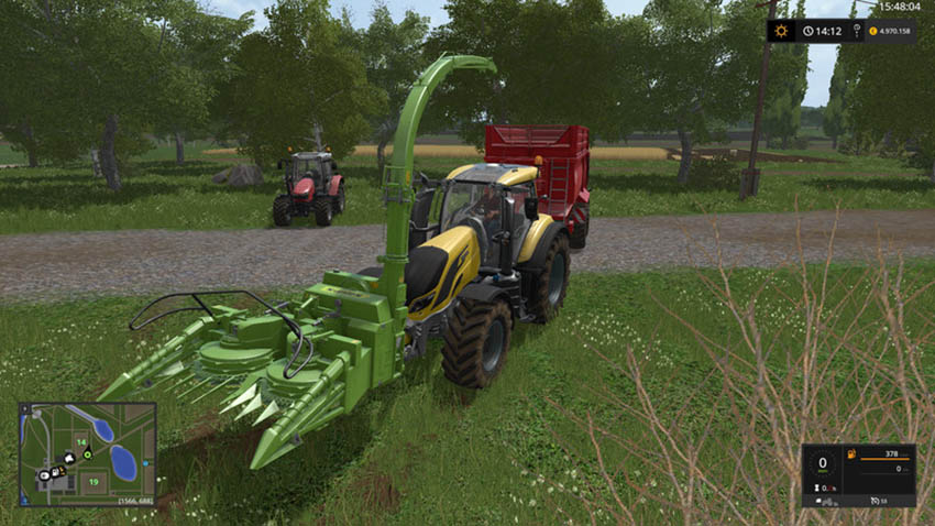 Poplar harvester for tractors V 1.3.0.1