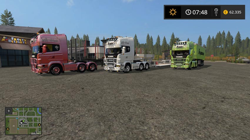 Scania V8 Old School V 1.0