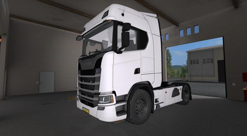 Scania V8 S580 Streamline V 1.0
