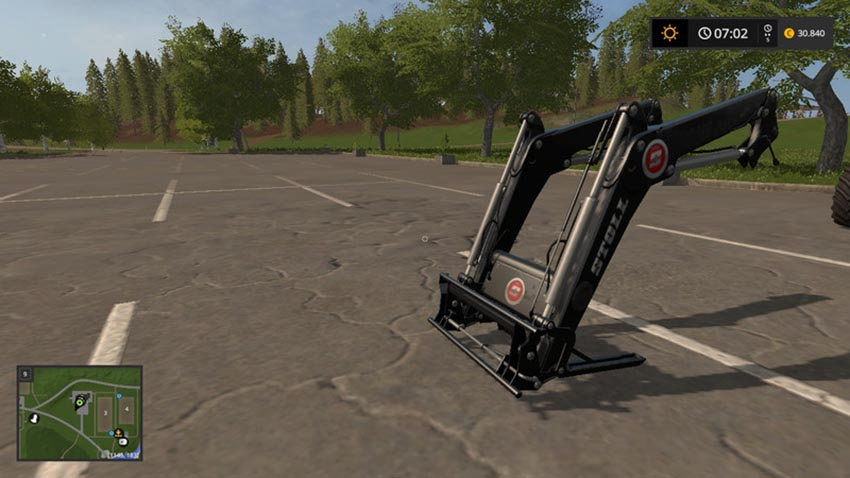 Stoll FZ Pack with Cutter attacher V 1.2