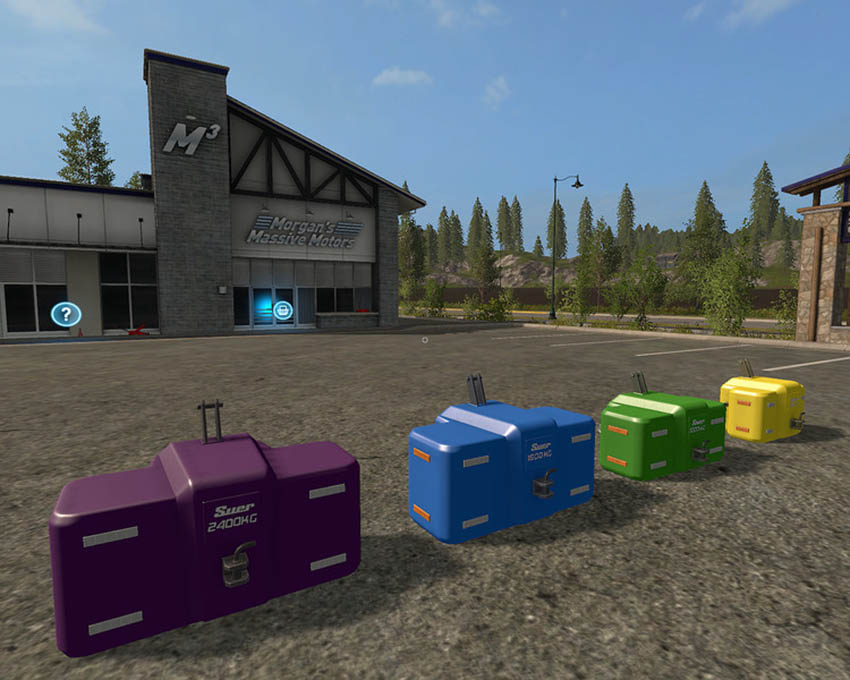 Suer weights Pack V 1.0