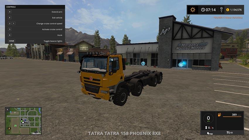 TATRA 158 Phoenix 8x8 v 1.1