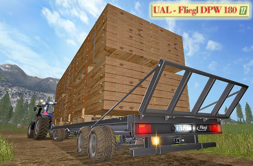 UAL Fliegl DPW 180 boards Palette V 1.0