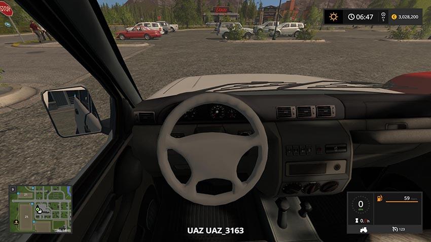 UAZ 3163 PATRIOT v 1.0