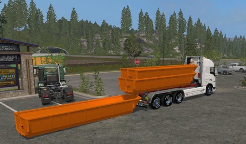 VOLVO FH 750 V8 HKL with trailer new system v 1.0