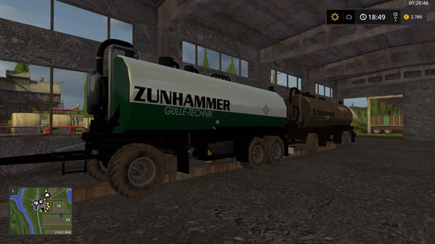 Zunhammer Slurry Transportation V 1.0