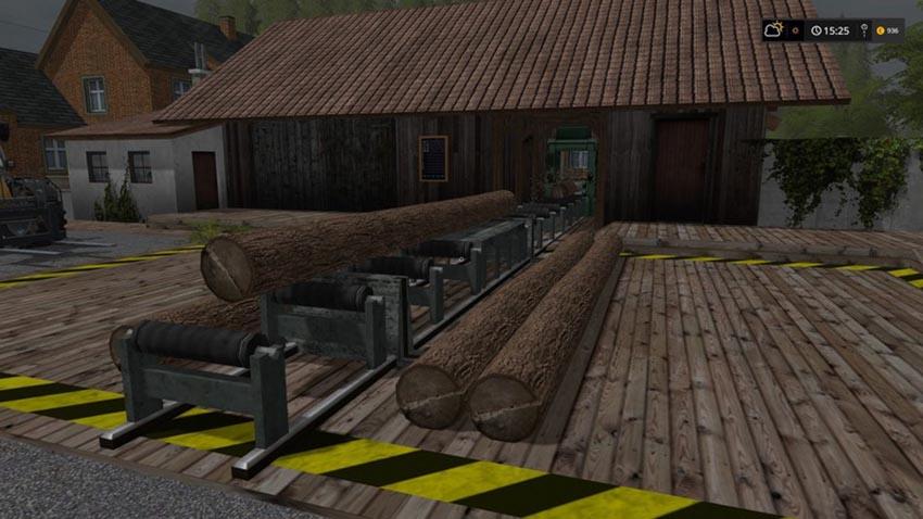 Repositionable sawmill V 1.0