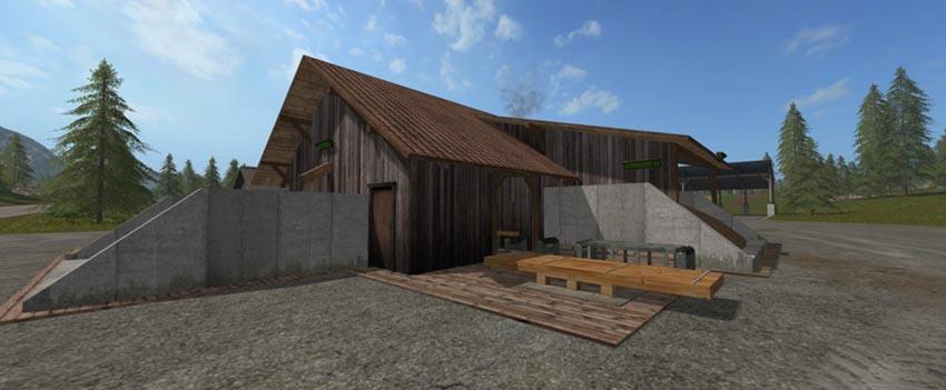 Sawmill factory script v 1.0