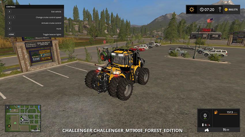 Challenger MT 900e Forest v 1.0