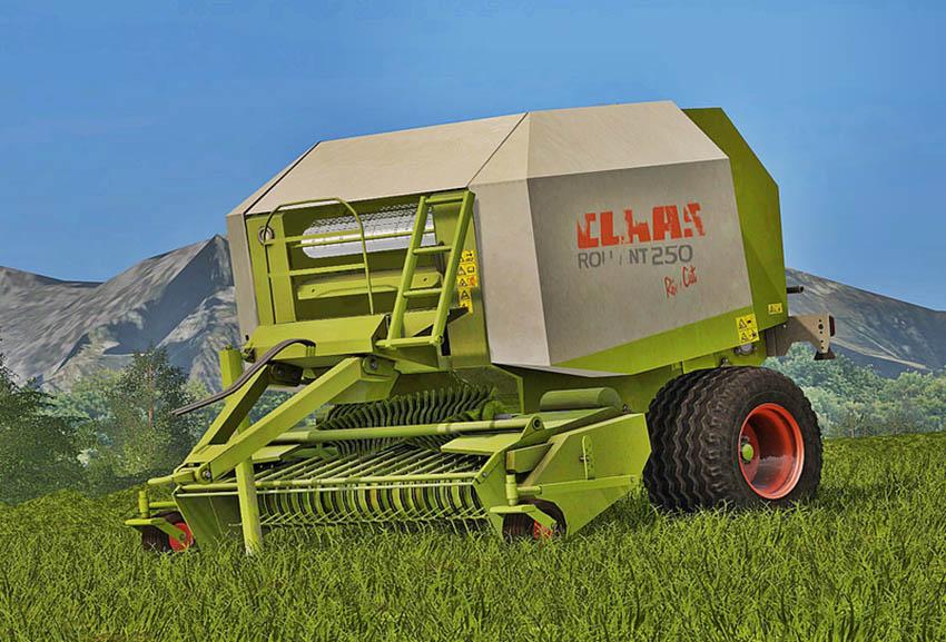 Claas Rollant 250 Roto Cut V 1.0