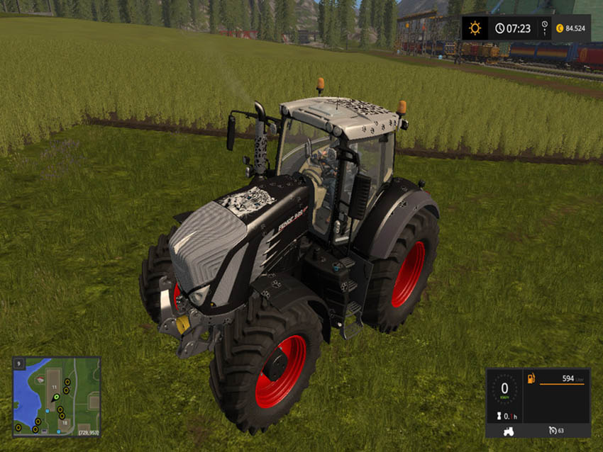 Fendt 900 Black Beauty v 1.0.0.1