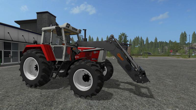Front loading for large tractors v 1.0