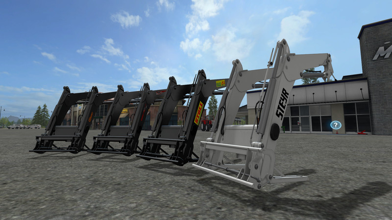 Front loading for large tractors v 1.0