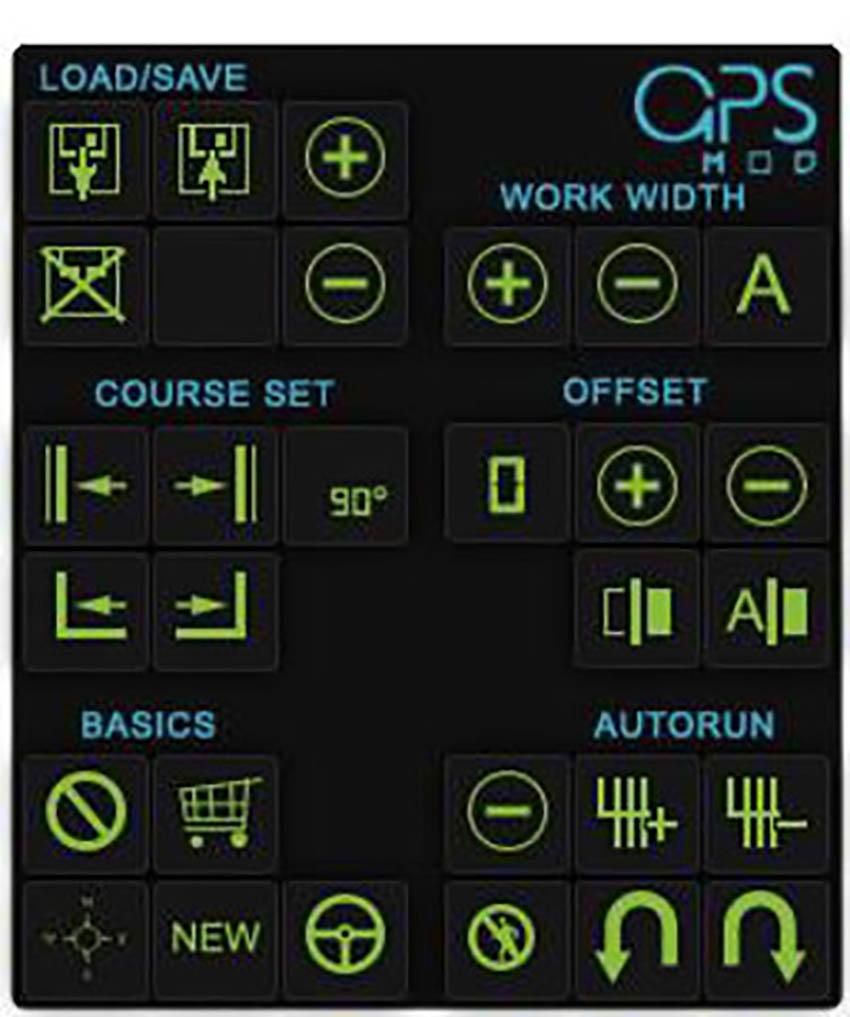 GPS HUD Farming Sim 17 Style V 1.0.1