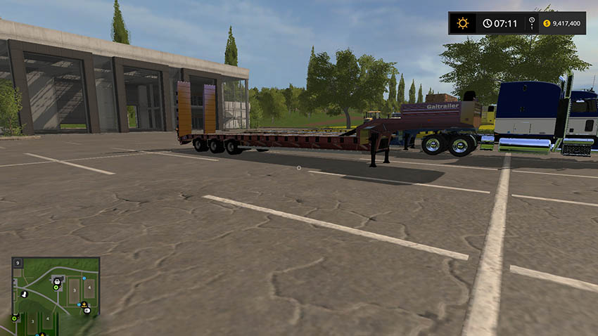 Gal Low Loader Trailer V 1.0