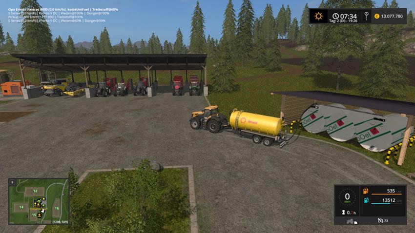 Hof diesel storage V 1.0