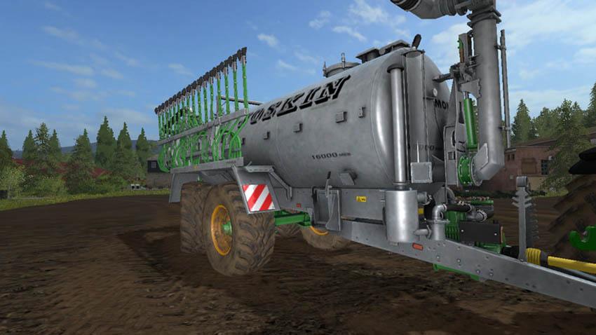 Joskin Modulo2 with steering axle V 1.0