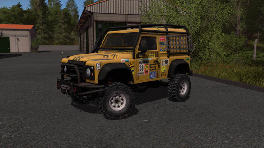 Land Rover Defender Dakar v 1.0