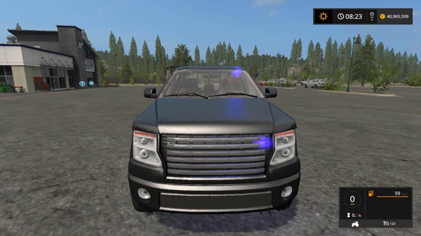 Lizard Pickup TT Unmarked Police V 1.0