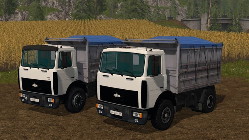 MAZ 5551 with trailer V 3.1