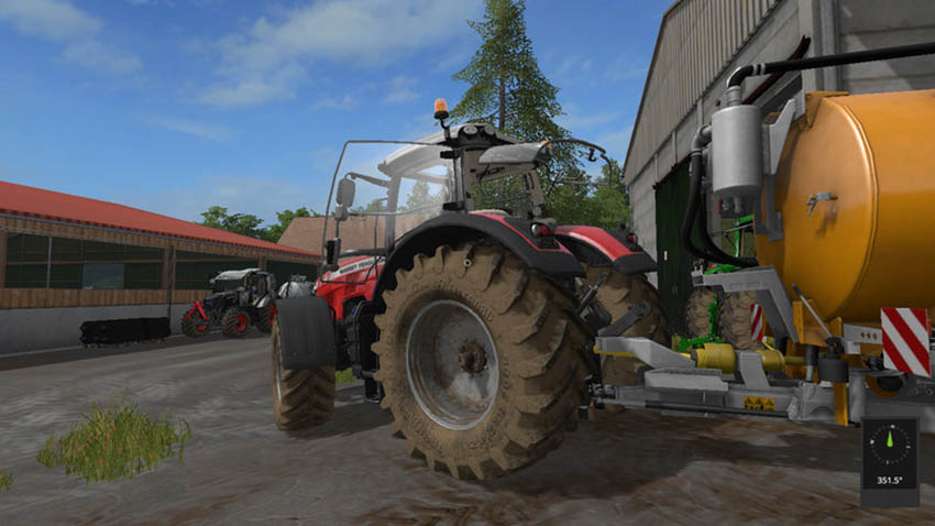 Massey Ferguson 8700 with IC-Control V 1.01