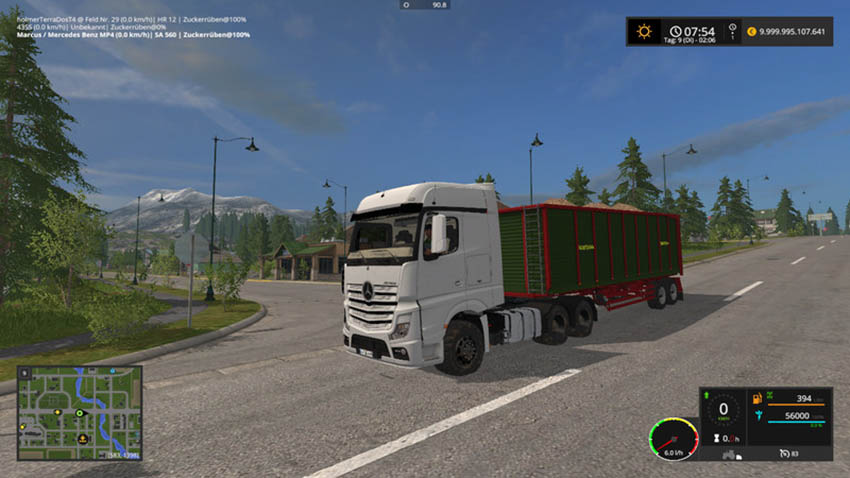 Mercedes Benz Actros MP4 V 1.0