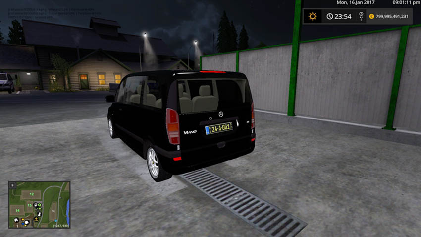 Mercedes-Benz Viano Diplomatic Corps V 1.1