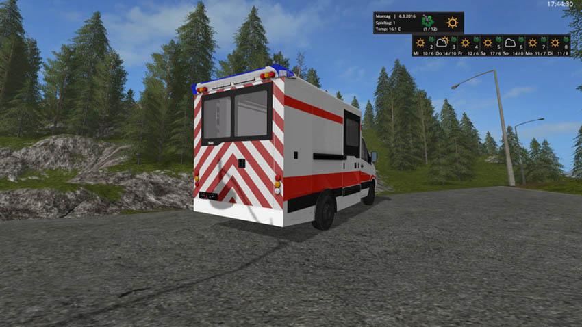 Mercedes Sprinter WAS Ambulance v 0.9
