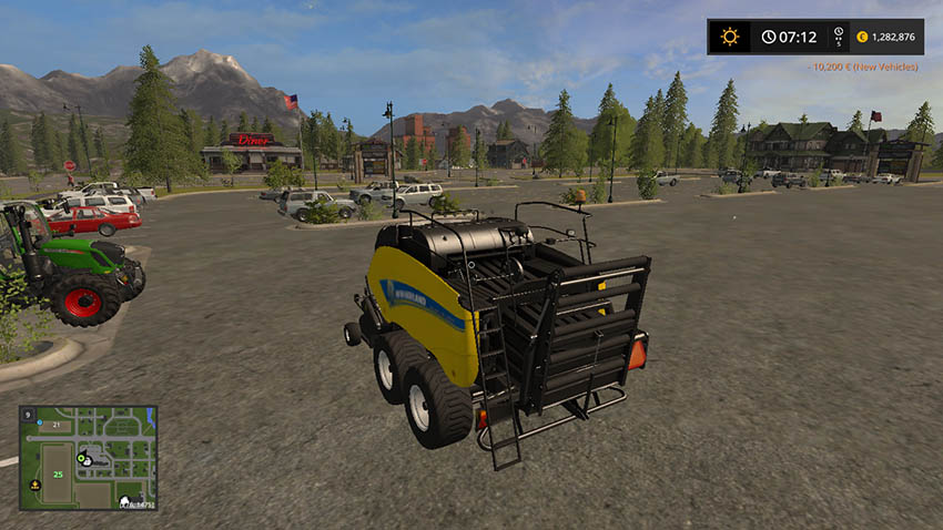 New Holland Big Baler V 1.0