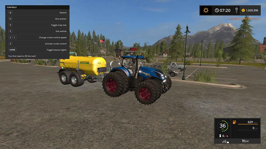 New Holland T7 V 1.3