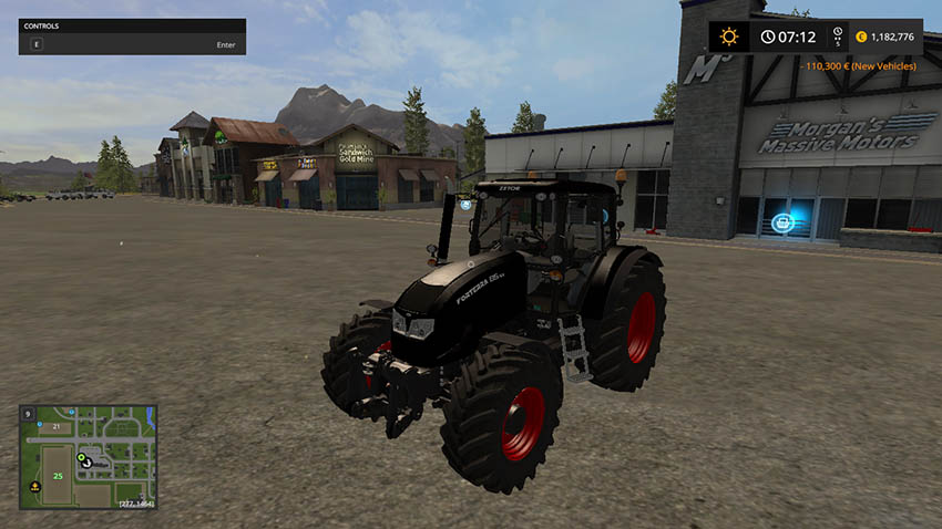 Zetor Forterra 135 Limited Black Edition