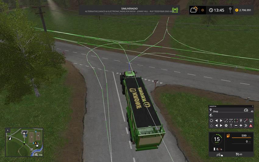Auto Drive route network Sosnovka V 1.0