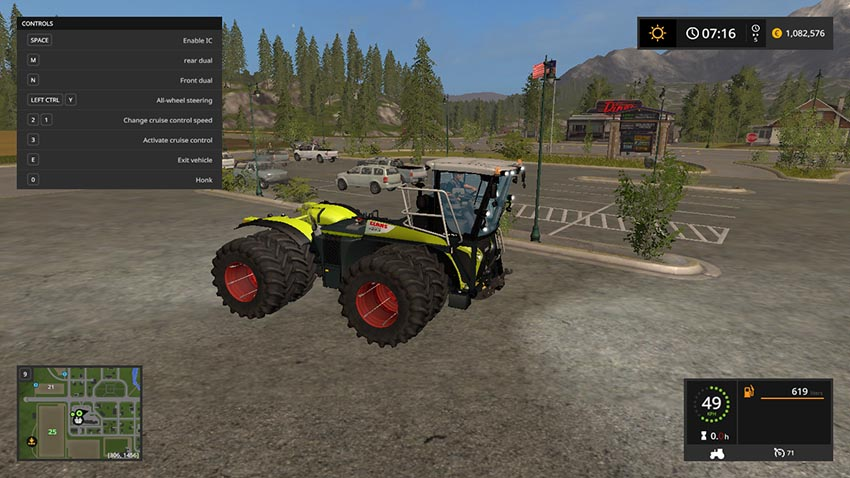 CLAAS XERION 4000 ST PACK