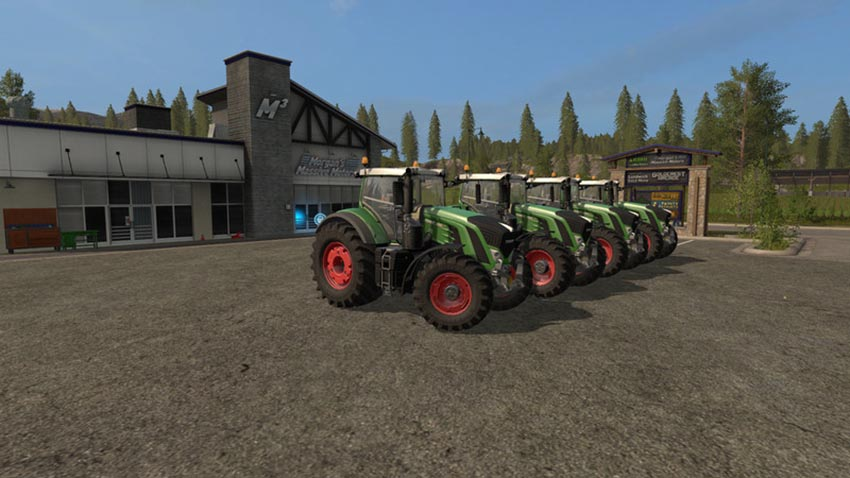 Fendt 900 Series Pack V 1.0.0.1