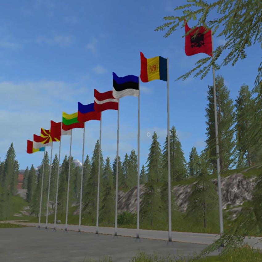 Flag pack 1-50 V 2.0