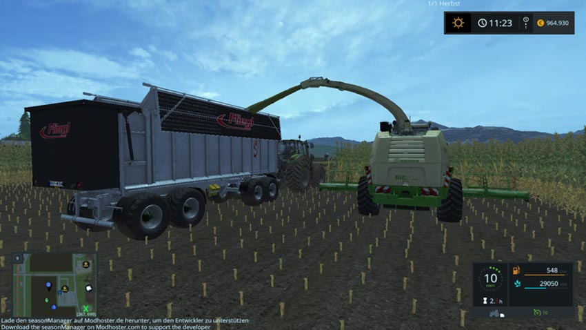 Fliegl 4-axle tipper V 1.0