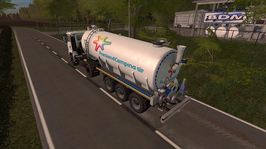 Friesland Campina Milk Truck