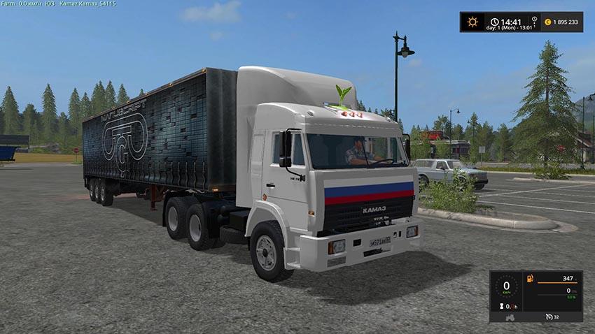 KamAZ 54115 V 4.0