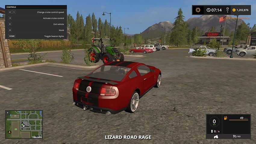 LIZARD Road Rage LIGHT ADDON VERSION V 1.0