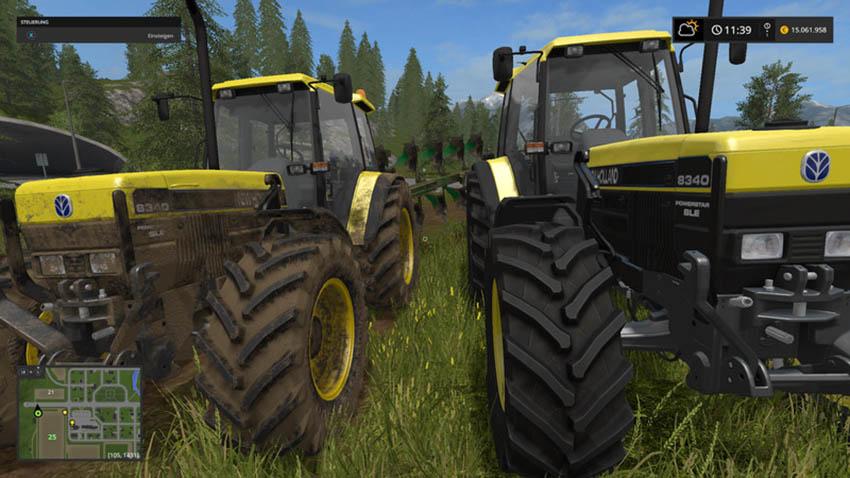 New Holland 8340DE V 1.1