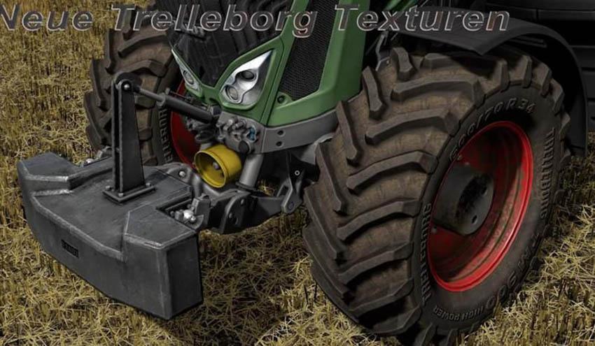 New Trelleborg textures V 1.0