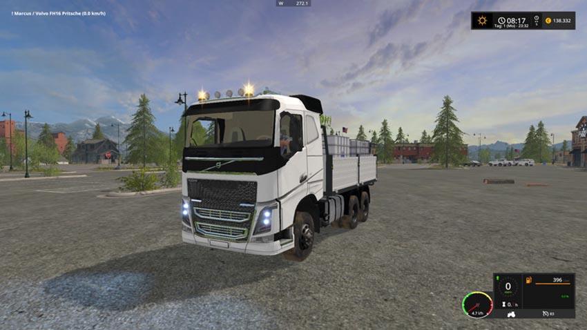 Volvo FH16 flatbed V 1.0